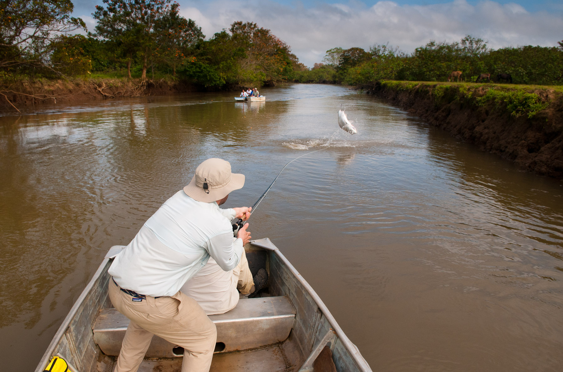 Fishing The Nicoya Peninsula Of A Rica Has Two Options