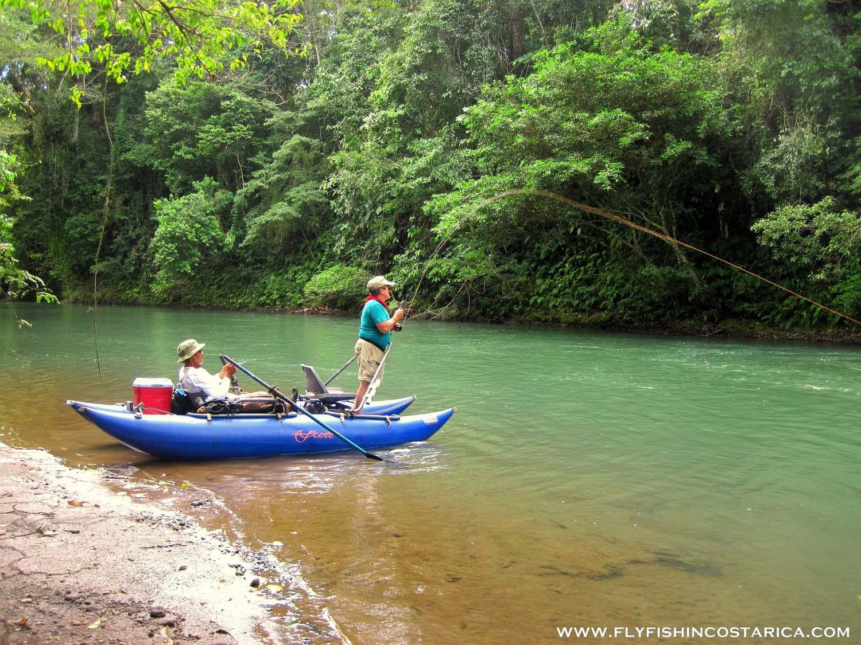 Fly fish in costa rica trips for Costa rica fishing season